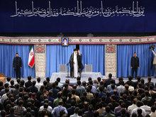تصویر از بیانات رهبر معظم انقلاب اسلامی حضرت آیتالله خامنهای در دیدار نخبگان و استعدادهای برتر علمی